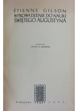 Wprowadzenie do nauki świętego Augustyna