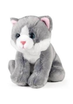 Kot szary siedzący 15cm ACP