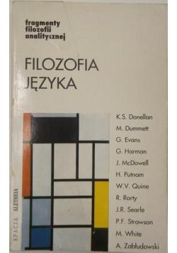 Flozofia języka