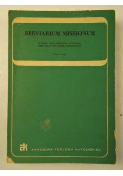 Breviarium Missionum, część II