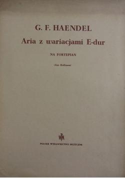 Aria z wariacjami E-dur na fortepian