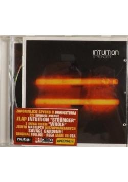 Intuition - Stronger, CD
