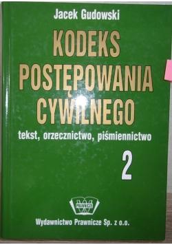 Kodeks postępowania cywilnego 2