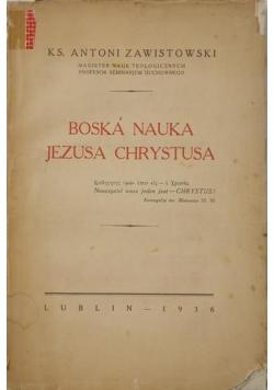 Boska nauka Jezusa Chrystusa, 1936 r.
