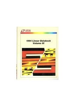 1994 Linear databook volume III