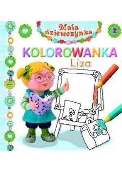 Mała dziewczynka kolorowanka - Liza