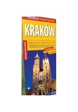 Kraków Miniprzewodnik plan miasta 1:22 000