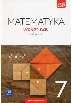 Matematyka wokół nas 7 Podręcznik