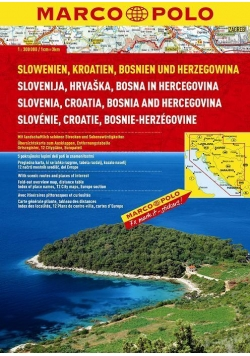Atlas Chorwacja 1:300 000 SPIRALA - MARCO POLO