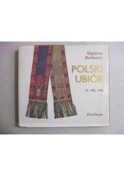 Polski ubiór do 1864 roku