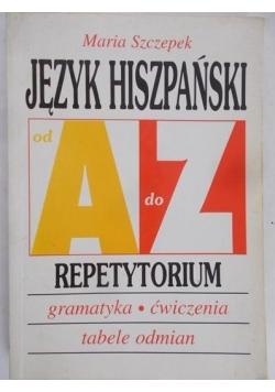 Język hiszpański od A do Z. Repetytorium