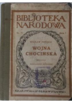 Wojna Chocimska,1924r