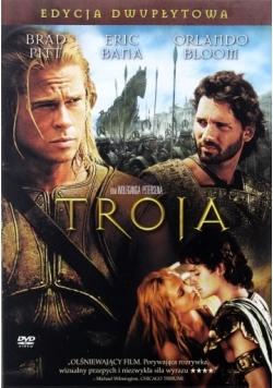 Troja, edycja dwupłytowa, płyty DVD