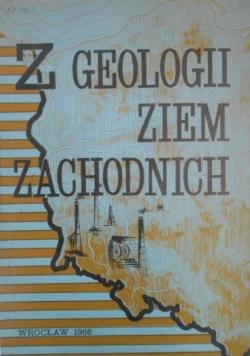 Z geologii Ziem Zachodnich