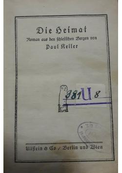 Die Seimat, 1916 r.