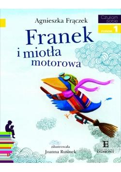 Czytam sobie - Franek i miotła motorowa