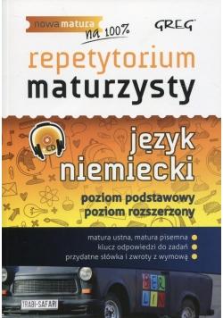 Repetytorium maturzysty Język niemiecki Poziom podstawowy i rozszerzony