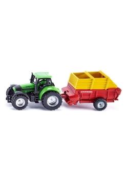 Siku 16 - Traktor z ładowarką Pottinger S1676
