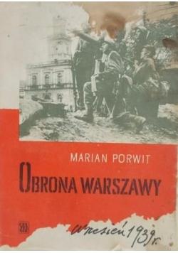 Obrona Warszawy Wrzesień 1939 r