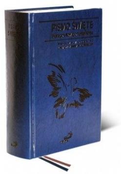 Pismo Święte ST i NT (paginatory, kolor granatowy)