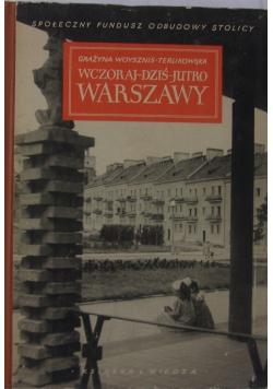 Wczoraj-dziś -jutro Warszawy, 1950 r.