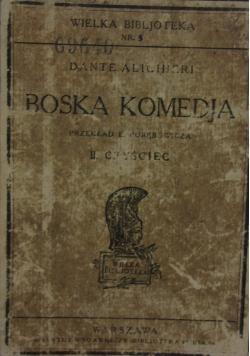 Boska Komedyja II czyściec, 1922 r.
