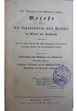 Briefe, 1844 r.