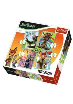 Puzzle 4w1 Portrety TREFL