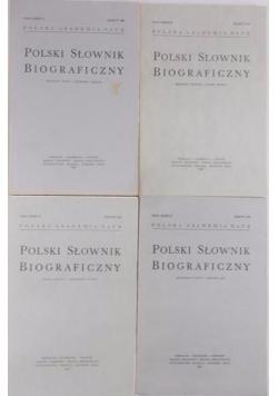 Polski Słownik Biograficzny, zeszyty 140-143