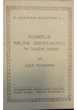 Adoracje Najśw. Sakramentu na godzinę świętą, XIX, 1949 r.
