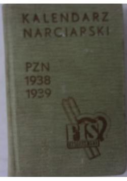 Kalendarz narciarski PZN 1938 1939