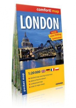 Comfort!map Londyn (London) 1:20 000  plan miasta