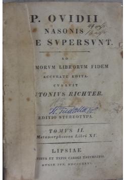 P. Ovidii nasonis Quae Supersunt, 1826 r.