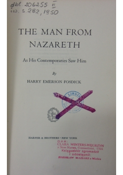 The men from Nazareth, 1949