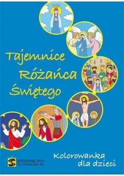 Kolorowanka dla dzieci. Tajemnice Różańca Świętego