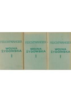 Wojna żydowska zestaw trzech książek