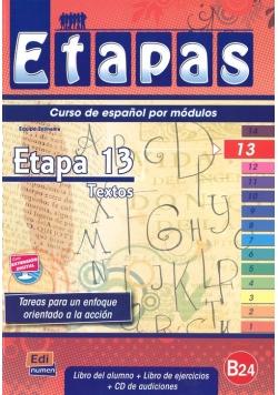Etapas 13 Podręcznik + ćwiczenia + CD