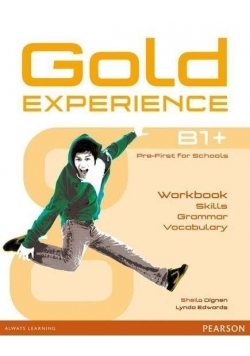 Gold Experience B1+ Language and Skills WB PERSON