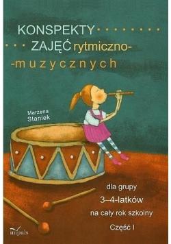 Konspekty zajęć rytmiczno-muzycznych 3-4 cz.1