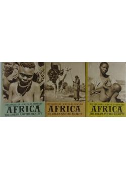 Africa , zestaw 3 książek
