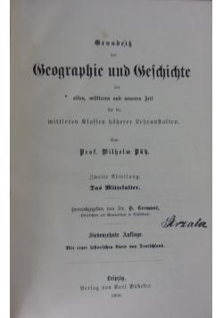 Grundrik der Geographie und Geschichte, 1906 r.