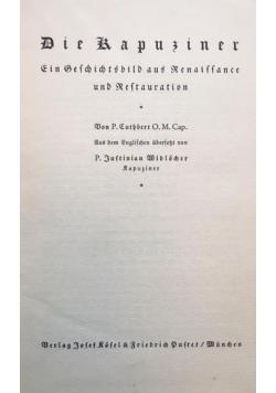 Die kapuziner, ok. 1931r.
