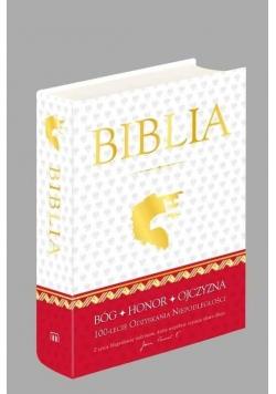Biblia domowa 100 -lecie odzyskania niepodległości