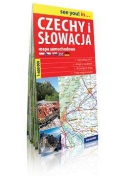 See you! in... Czechy i Słowacja 1: 600 000 mapa