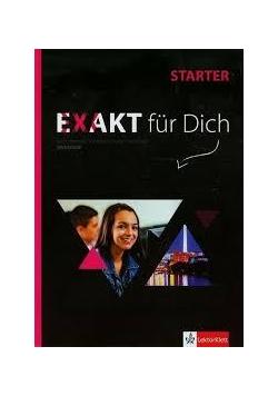 Exakt fur Dich Starter podręcznik +CD LEKTORKLETT