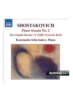 Shostakovich, Piano Sonata no.2, CD