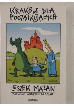 Kraków dla początkujących, Ilustacje Andrzej Mleczko