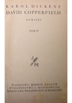 David Copperfield, powieść 1927r.
