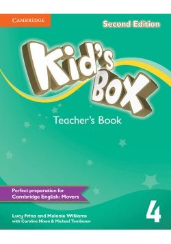 Kid's Box Second Edition 4 Teacher's Book