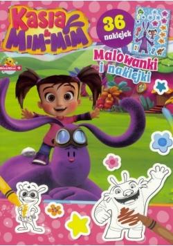 Kasia & Mim-Mim Malowanki i naklejki T.2
